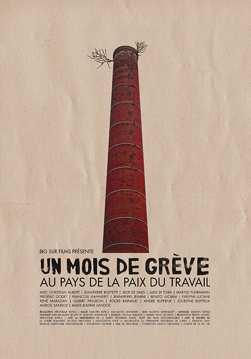 Affiche de Un mois de grève